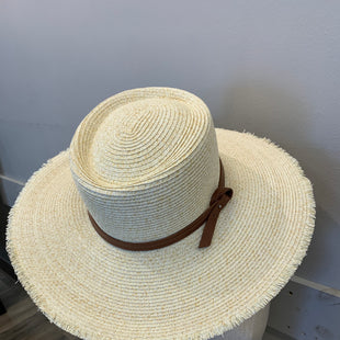Primary Photo - BRAND:   SOMETHING SPECIAL STYLE: HAT COLOR: STRAW OTHER INFO: SOMETHING SPECIAL - SKU: 137-137158-11508