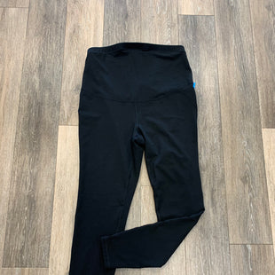 Primary Photo - BRAND: OLD NAVY STYLE: MATERNITY ATHLETIC LEGGINGS COLOR: BLACK SIZE: L OTHER INFO:  ELEVATE LEGGINGS SKU: 137-137178-6263