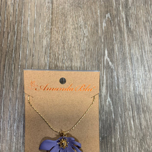 Primary Photo - BRAND:    AMANDA BLUSTYLE: NECKLACE COLOR: LILAC OTHER INFO: AMANDA BLU - SKU: 137-137177-26137