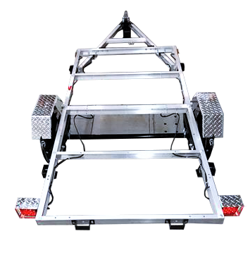 Marlon 3 Way Flat-deck Utility Trailer