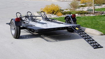 Marlon MCTD Foldable Motorcycle Trailer
