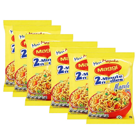 Indian Maggi Masala Noodle (70g x 6pcs)