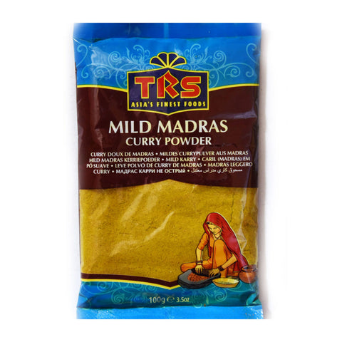 Madras Curry Pow Mild Trs