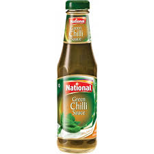Sauce National Green Chilli