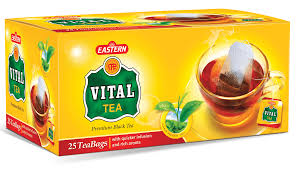 Tea Vital Box Black 30P