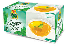 Tea Vital Green Mint 30 Pck