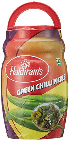 Haldiram Pickle Green Chilli
