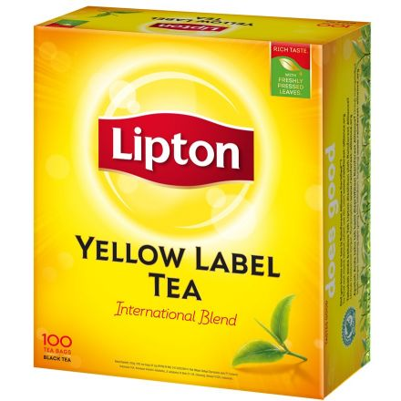 LIPTON Yellow Label Tea Bags - 100