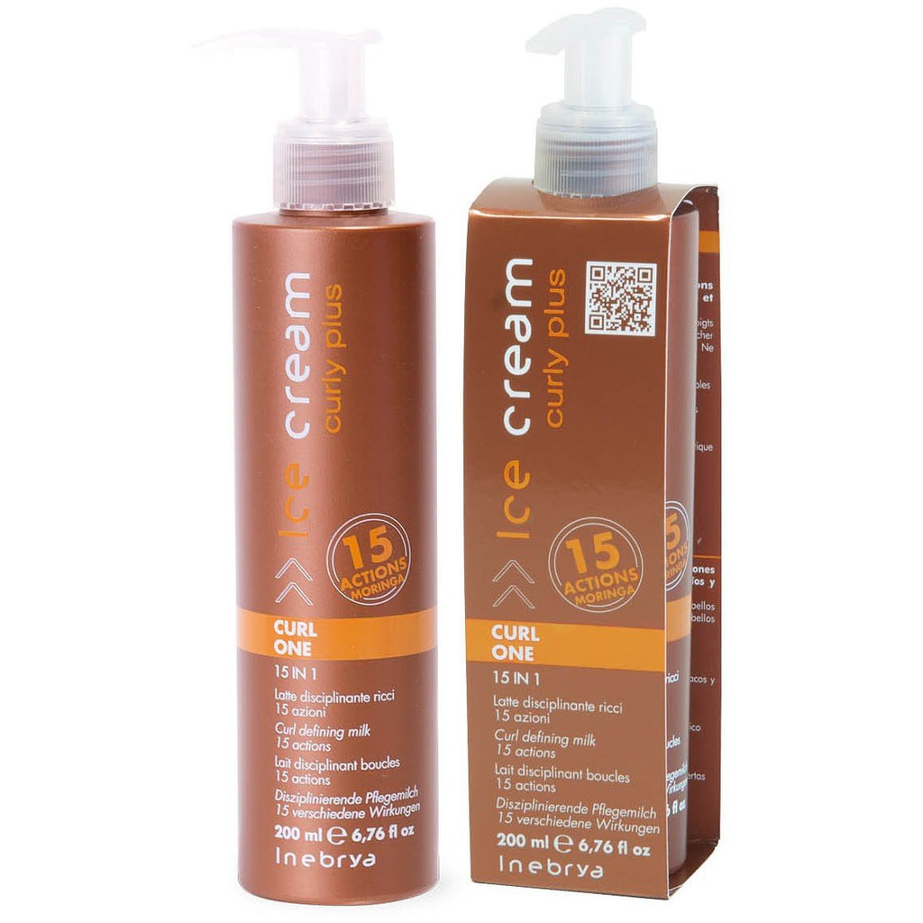 Inebrya Curly Plus Latte Disciplinante 15 in 1