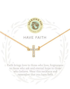 Sea La Vie Have Faith Necklace