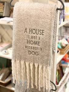 Dog Throw Blanket
