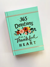 Load image into Gallery viewer, 365 Devotions for a Thankful Heart