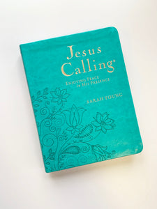 Jesus Calling Deluxe Large Teal