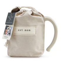 Load image into Gallery viewer, Cat Mom Heart Mug