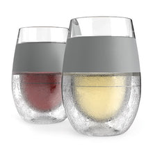 Load image into Gallery viewer, Wine FREEZE Cooling Cups - Set of 2