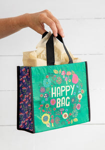 Medium Green Happy Bag