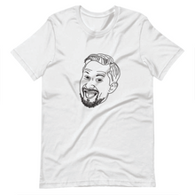 Load image into Gallery viewer, Personalized Doodle of your Dance Face | Short-Sleeve Unisex T-Shirt