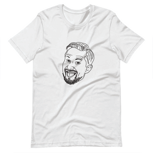 Personalized Doodle of your Dance Face | Short-Sleeve Unisex T-Shirt
