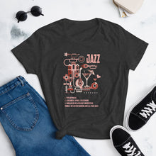 Load image into Gallery viewer, What a Jazz by Martynas Stonys | Women's short sleeve t-shirt