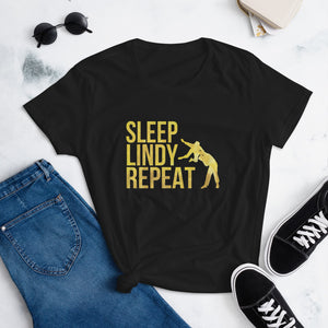 Sleep Lindy Repeat - Singapore Lindy Revolution | Women's short sleeve t-shirt
