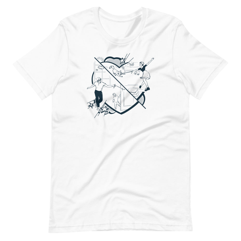 Lindy Hop at Home by Lina | Short-Sleeve Unisex T-Shirt