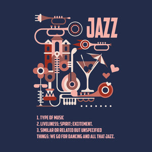 What a Jazz by Martynas Stonys | Short-Sleeve Unisex T-Shirt