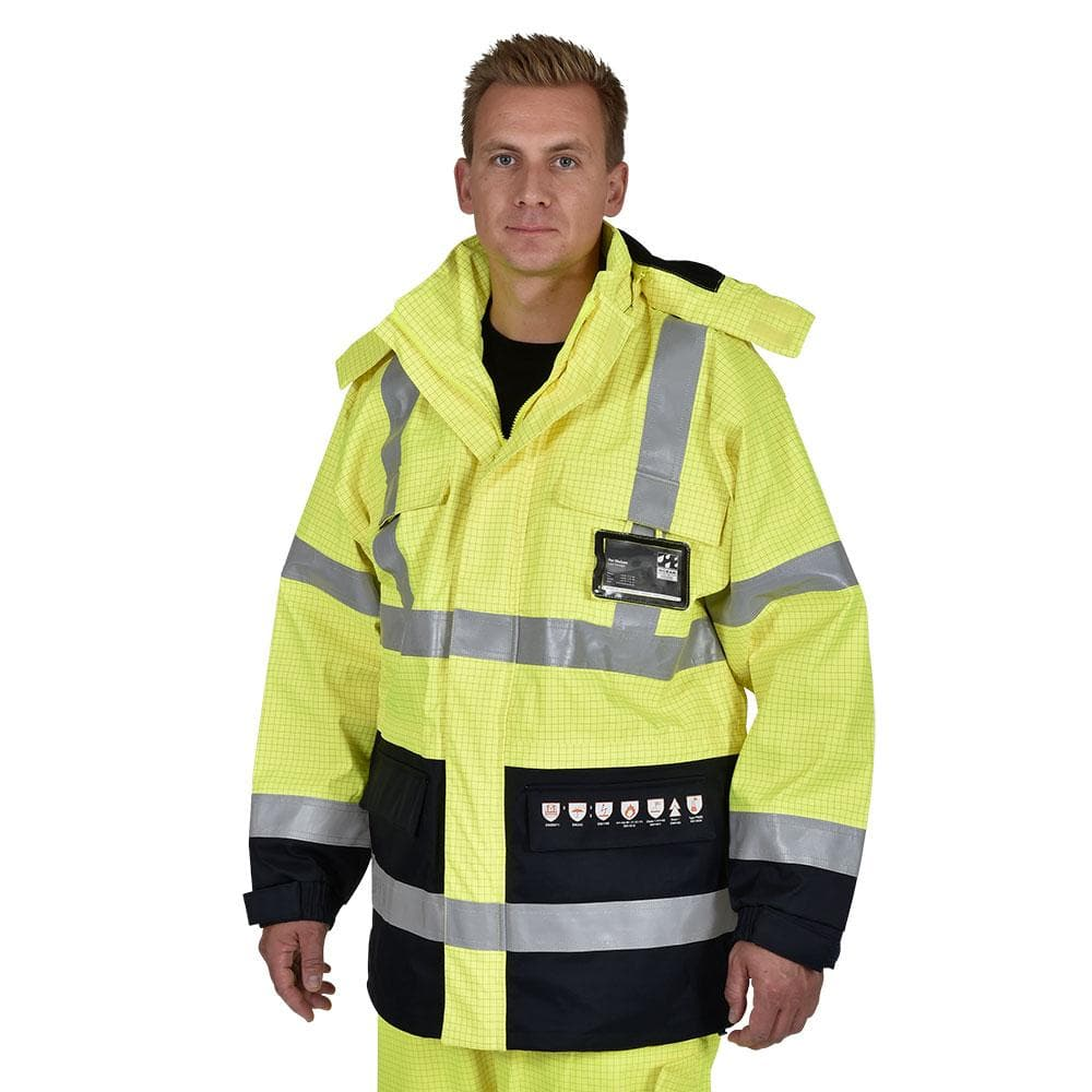 Ocean Multinorm Protect Jack High-Vis Geel/Zwart