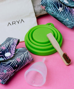 ARYA Period Kit - The Beauty Box of Menstrual Care