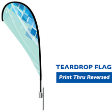 Load image into Gallery viewer, Teardrop Flag