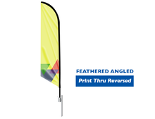 Load image into Gallery viewer, Feather Angled Flag