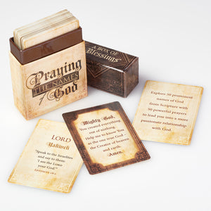 Praying the Names of God- Blessings Box
