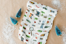 Load image into Gallery viewer, Deluxe Muslin Swaddle Blanket - Bugs