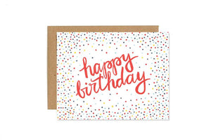 Birthday Confetti- Greeting Card