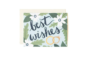 Best Wishes- Greeting Card