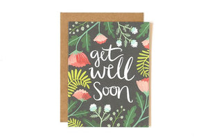 Get Well Soon- Greeting Card