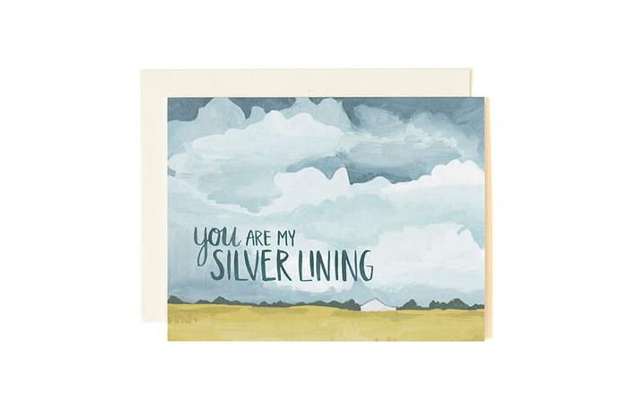 You Are My Silver Lining- Greeting Card
