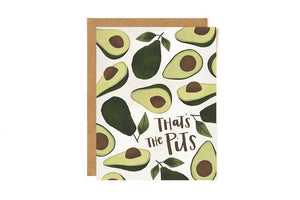 That's the Pits- Greeting Card