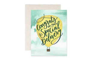 Congrats On Your Special Delivery- Greeting Card
