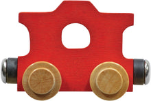 Load image into Gallery viewer, Caboose- Wooden Name Train
