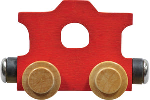 Caboose- Wooden Name Train