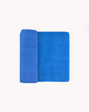 Load image into Gallery viewer, Deluxe Muslin Swaddle Blanket-Cobalt
