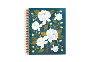Raleigh Floral Spiral Notebook
