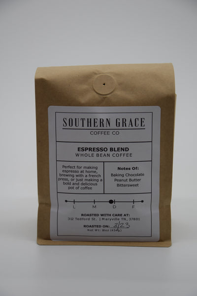 Espresso Blend- Whole Bean Coffee