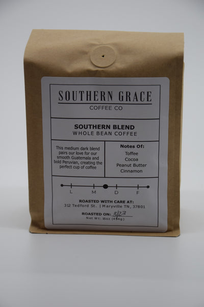 Southern Blend- Whole Bean Coffee
