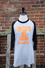 Load image into Gallery viewer, 3/4 sleeve Tennessee football Tee