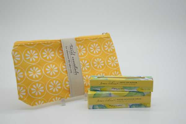 Lemon Verbena Travel Essentials Gift Set