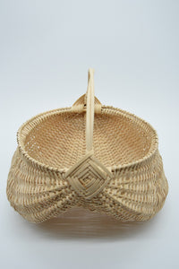 "8"" Egg Basket in Natural Color"