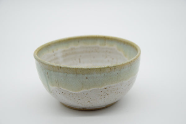 Breakfast Bowl with Green Rim