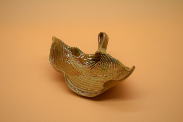 Scalloped Leaf Dish
