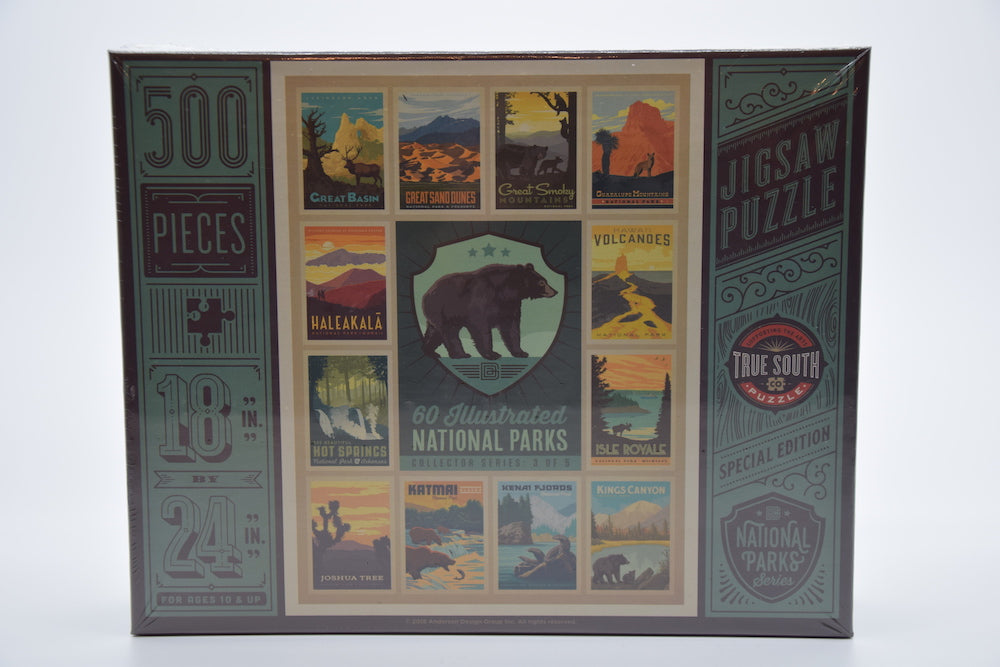 National Parks Collector Series with Black Bear Puzzle